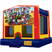 Sheriff Callie Modular Bounce House