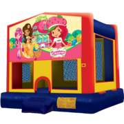 Strawberry Shortcake Modular Bounce House
