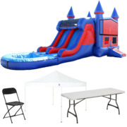 Wet/Dry Combo Bouncer Backyard Party Package