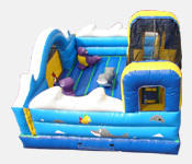 Ocean Toddler Bounce-n-Slide