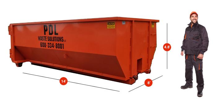 Dumpster Rental Janesville WI 15