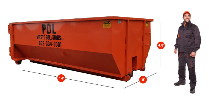 Milton WI Dumpster Rental
