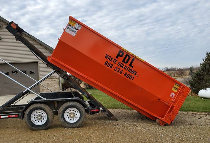 roll off dumpster Stoughton WI
