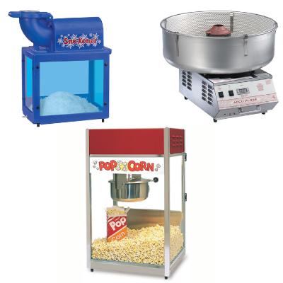 concession machine rentals