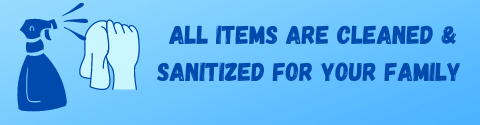 all items sanitized