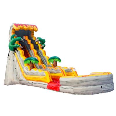 dinosaur waterslide with pool rental