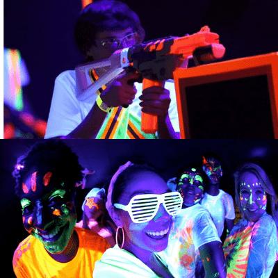 chicago glow parties