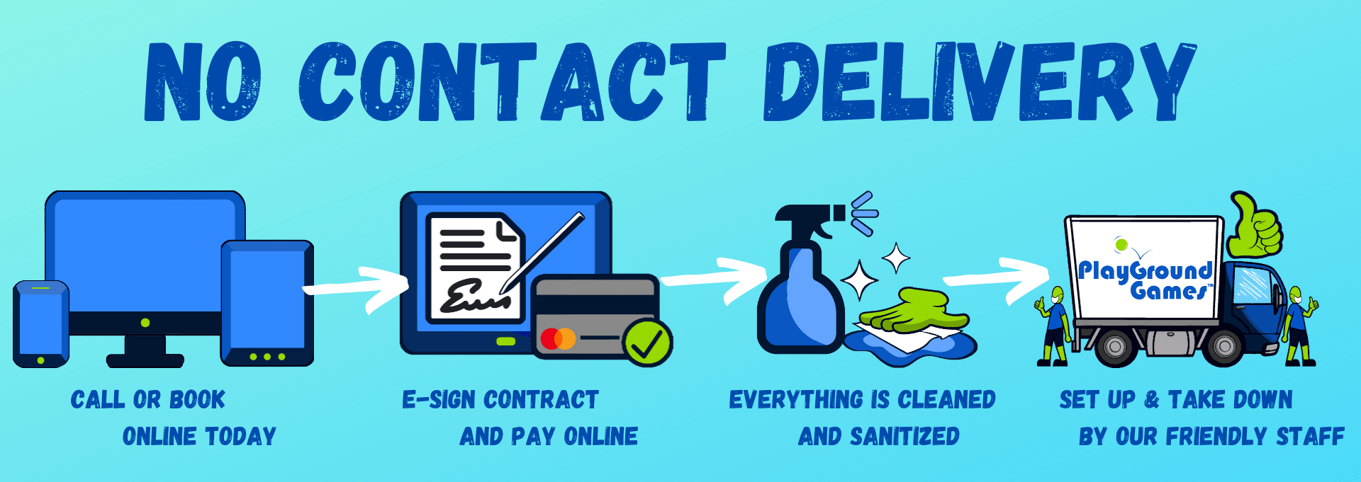 clean no contact delivery in Chicago IL