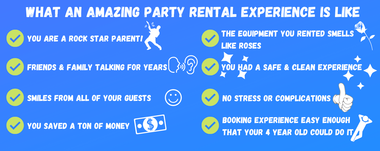 what an amazing party experience is like
