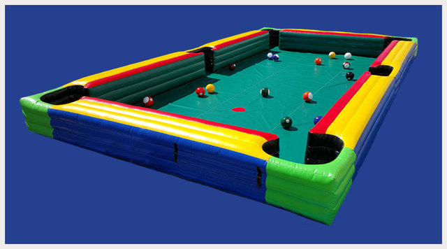 Giant Inflatable Billiard Pool Table