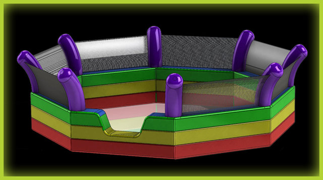 GaGa Pit Glow (8 sided)