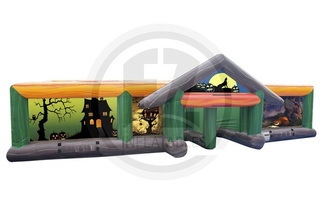 Inflatable Haunted Maze/Haunted House