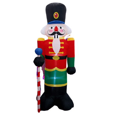 Nutcracker 8ft Inflatable (indoor or outdoor)