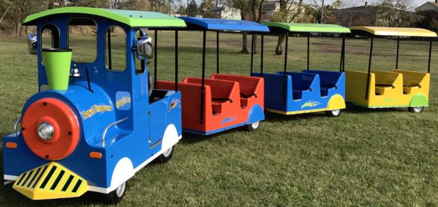 Trackless Train 3 Cars