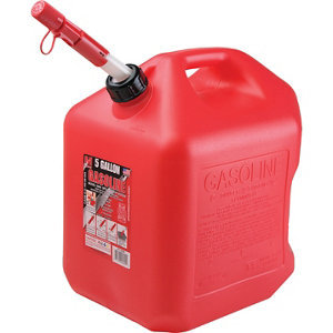 Extra Gasoline for Generator 2.5 gallons
