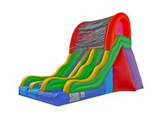 17ft Wacky Dual Lane Slide Dry