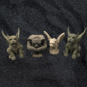 Gargoyles 4 pieces