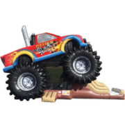 GIANT Monster Truck Bounce and Slide