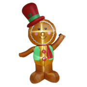Gingerbread Person 8ft Inflatable indoor or outdoor