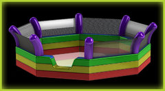 Glow GaGa Pit 8 sided With Black Light Tripod