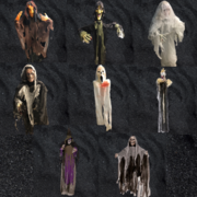 Hanging Ghoul Package - 15 pieces