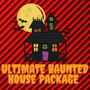 Ultimate Haunted House Package 95 pieces