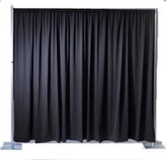 Pipe and Drape (12' x 10') Black
