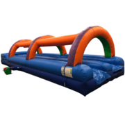 35ft Dual Lane Slip N Slide with Splash Stop