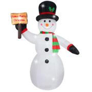 Snowman 8ft Inflatable indoor or outdoor