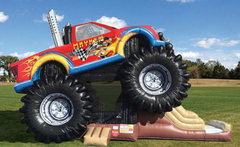 Giant Monster Truck Combo
