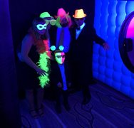 LED Glow Printing Social Photo Booth