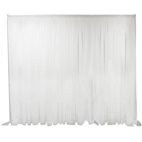 White Pipe and Drape Backdrop 12' x 10'