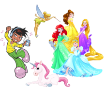 Girl and Princess Themes
