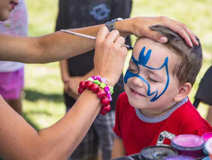 Hire face painting artist in Houston