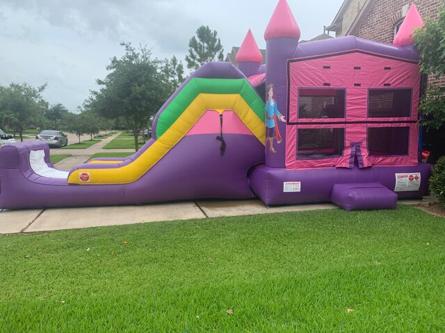Princess Rapunzel Bounce House
