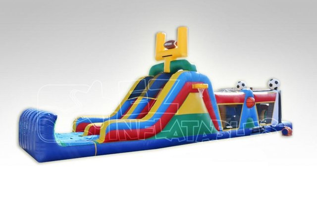 Sports Obstacles Bounce House