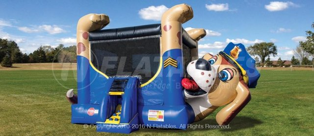 Chase Paw Patrol Bounce House