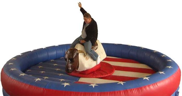 MECHANICAL BULL RIDER PARTY RENTAL FUN