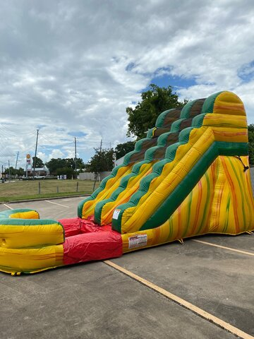 15ft. Single Lane Fiesta Water Slide