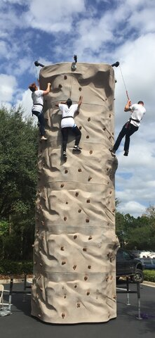 ROCK CLIMBING WALL PARTY RENTAL