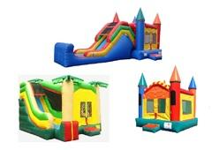 Bounce Houses w/ Slides