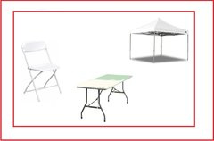 Tables / Chairs / Tents