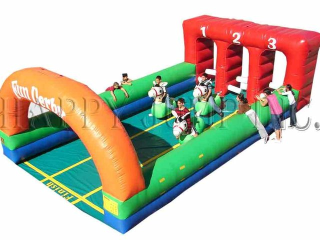 Inflatable Fun Derby Race