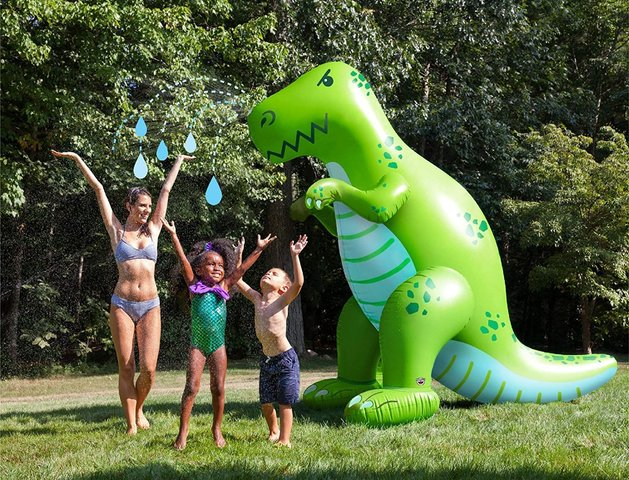 Inflatable Dinosaur Water Sprinkler