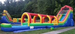 Fun Slide 20ft tall WET with Slip & Slide 25ft long and Pool