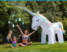 Inflatable Unicorn Water Sprinkler