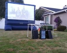 Outdoor Movie Screen 12ft