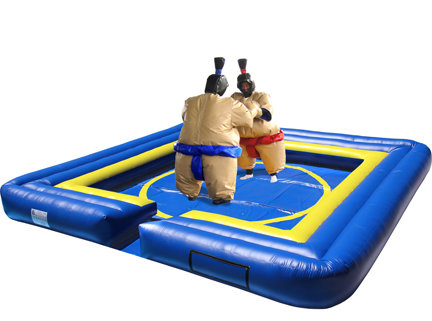 Sumo Wrestling Suits with Inflatable Safety Ring