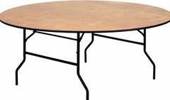 6FT Round Table - SEATS 10