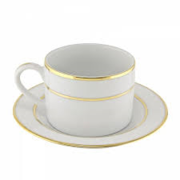 Gold Teacup Set